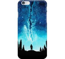 Alone In The Galaxy iPhone Case/Skin