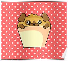 Puppy cake Poster