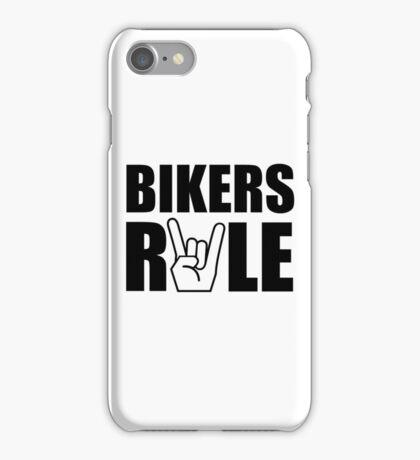 Bikers Rule iPhone Case/Skin