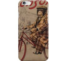 Anonimous - Monkey On Bicycle iPhone Case/Skin