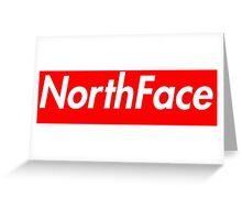 The North Face Supreme Box Logo Greeting Card