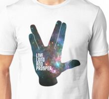 Star Trek - Galaxy - Live Long and Prosper Unisex T-Shirt