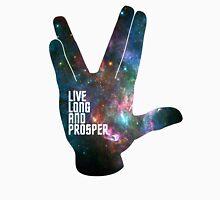 Star Trek - Galaxy - Live Long and Prosper Unisex T-Shirt