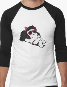 Mafalda Sun & Summer! Men's Baseball ¾ T-Shirt