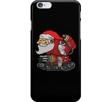 SANTA WITH A MACHINE GUN iPhone Case/Skin