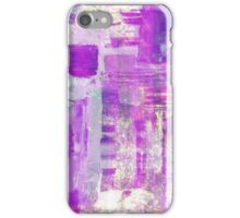 Beauty in Blue And Pink iPhone Case/Skin
