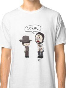 The Walking Dead, Coral meme illustration Classic T-Shirt