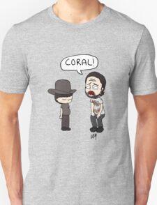 The Walking Dead, Coral meme illustration T-Shirt