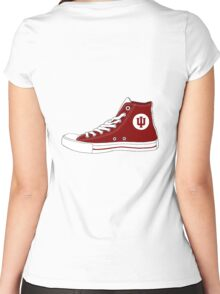 Indiana Converse Women's Fitted Scoop T-Shirt