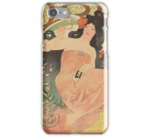 Alphonse Mucha - Job  iPhone Case/Skin