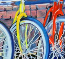 The Bicycle Shop, Bikes in a Row, Bicycle Picture Sticker