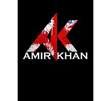 Amir Khan - Boxing - White  Photographic Print