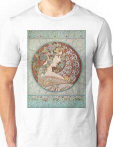 Alphonse Mucha - Ivy  Unisex T-Shirt