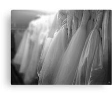 Bridal Gowns Canvas Print