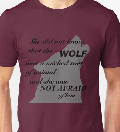 Scarlet Wolf  Unisex T-Shirt