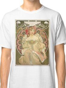 Alphonse Mucha - Champagne  Classic T-Shirt