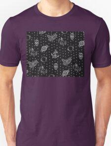 Flash Tattoo Punk Pattern Design Unisex T-Shirt