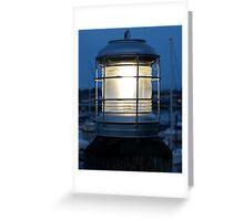 Ship Lantern Greeting Card