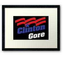 Clinton  Framed Print