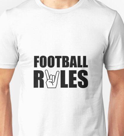 Football Rules Unisex T-Shirt