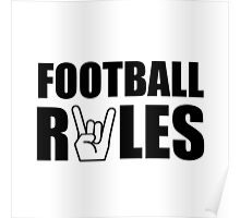 Football Rules Poster