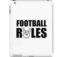 Football Rules iPad Case/Skin