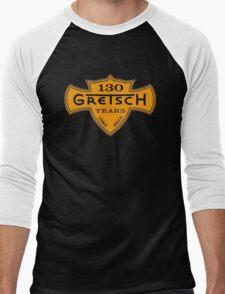 GRETSCH 130 YEARS ORANGE Men's Baseball ¾ T-Shirt