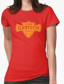 GRETSCH 130 YEARS ORANGE Womens Fitted T-Shirt