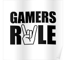 Gamers Rule Poster