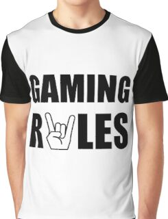Gaming Rules Graphic T-Shirt