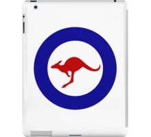 Roundel of the Royal Australian Air Force iPad Case/Skin