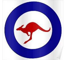Roundel of the Royal Australian Air Force Poster
