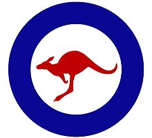 Roundel of the Royal Australian Air Force Photographic Print