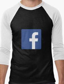 facebook Men's Baseball ¾ T-Shirt