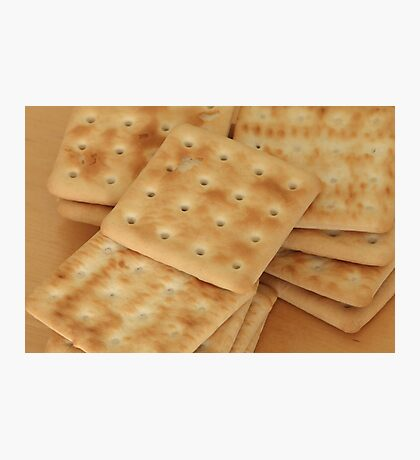 dry  biscuits cracker Photographic Print