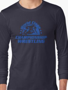 World Class Championship Wrestling t-shirt Long Sleeve T-Shirt