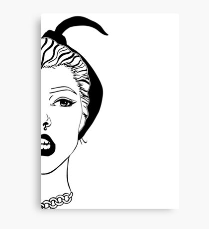 lydia 2 Canvas Print