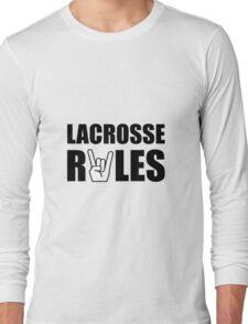 Lacrosse Rules Long Sleeve T-Shirt