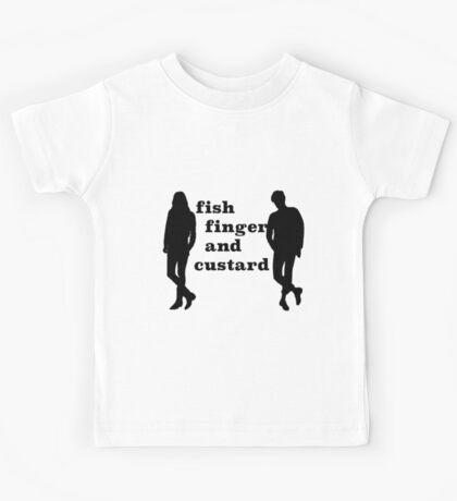 Fish finger and custard Kids Tee