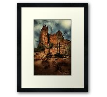 The Place of Snakes Framed Print