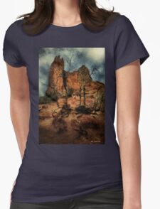 The Place of Snakes Womens Fitted T-Shirt