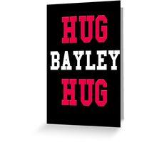 Hug Bayley Hug Design with Lining Greeting Card