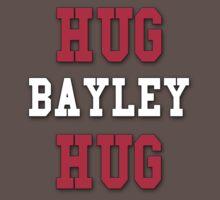 Hug Bayley Hug Design with Lining One Piece - Short Sleeve