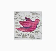 The Pink Polka Dotted Pigeon Unisex T-Shirt