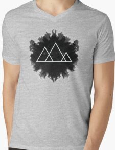 Trinity MT Inkblot Mens V-Neck T-Shirt