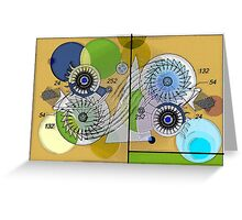 UNKNOWN MECHANISM 1 Greeting Card