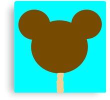 Mickey Ice cream Bar Canvas Print