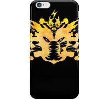 Pikachu Rorschach test iPhone Case/Skin