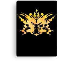 Pikachu Rorschach test Canvas Print
