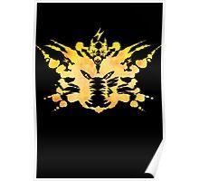 Pikachu Rorschach test Poster